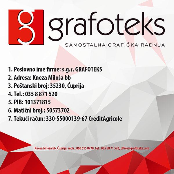 informacije o firmi grafoteks